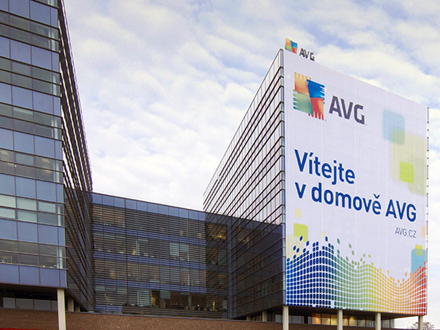 Сградата на AVG в Бърно