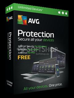 AVG Protection FREE Box
