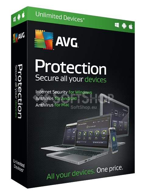 Avg Internet Security Unlimited Antivirus For 1 Family